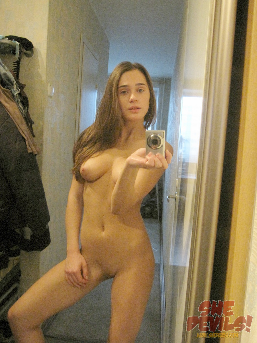 Free pics of young naked girls in the mirror think, that
